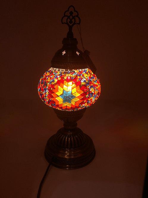 """MINI MOSAIC TABLE LAMP (13.7"""")"""
