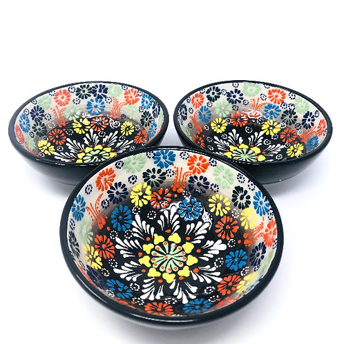 CUTE CERAMIC BOWLS SET OF 3 (10cm)