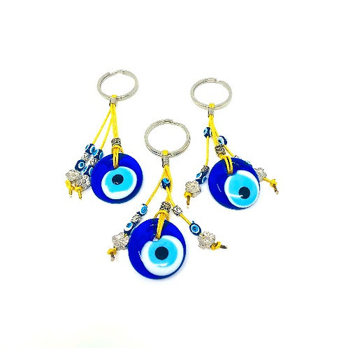 ALL SEEING EYE KEYCHAIN (YELLOW)