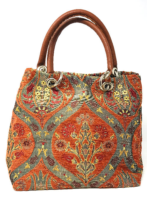 TURKISH TULIP DESIGN PURSE