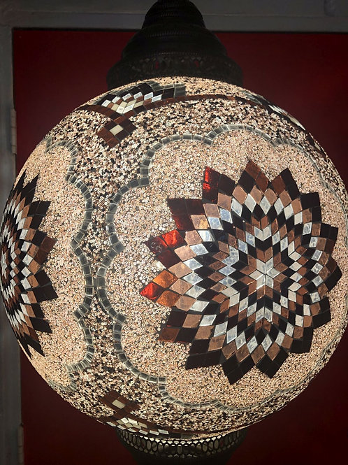 TURKISH MOSAIC HANGING LANTERN LARGE