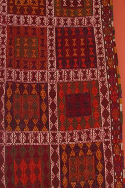 ANTIQUE NOMADIC KILIM RUNNER-RUG