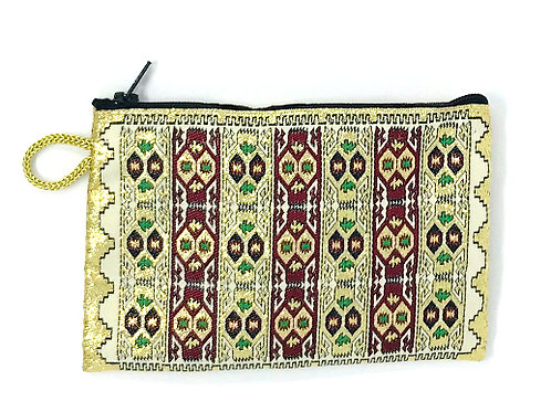 TURKISH CARPET PRINT POUCH