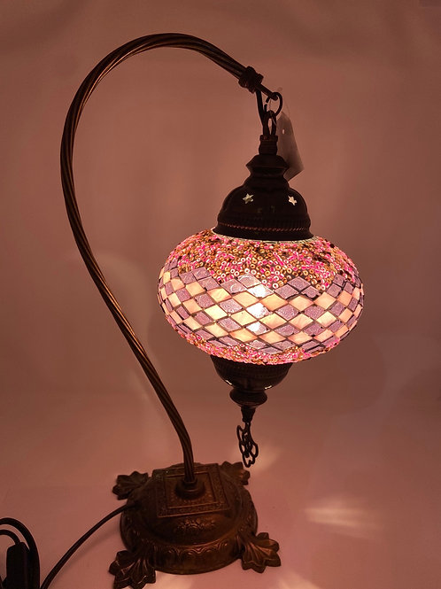 Mosaic Table Lamp 17""