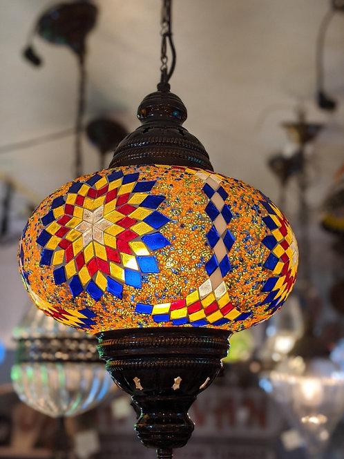 TURKISH MOSAIC PENDANT LIGHT