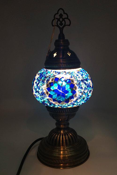 "MINI MOSAIC TABLE LAMP'S (13.7"")"