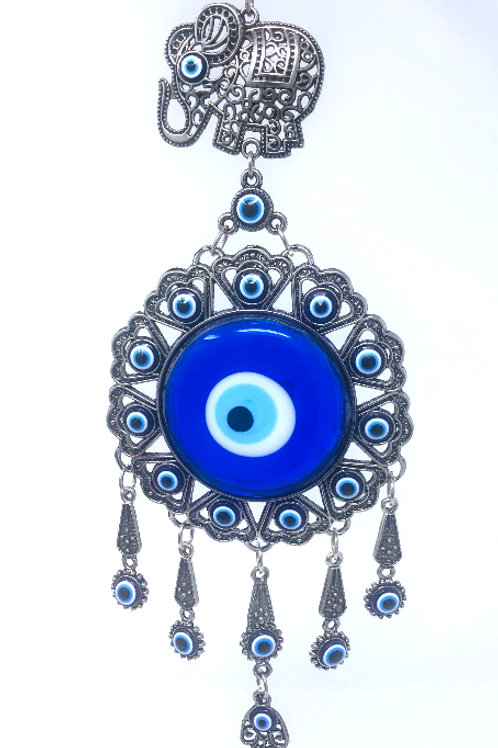 ALL SEEING EYE WALL HANGING WITH ELEPHANT