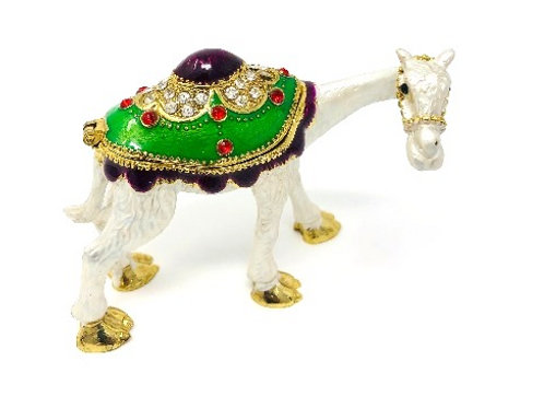 CEREMONIAL BRASS CAMEL