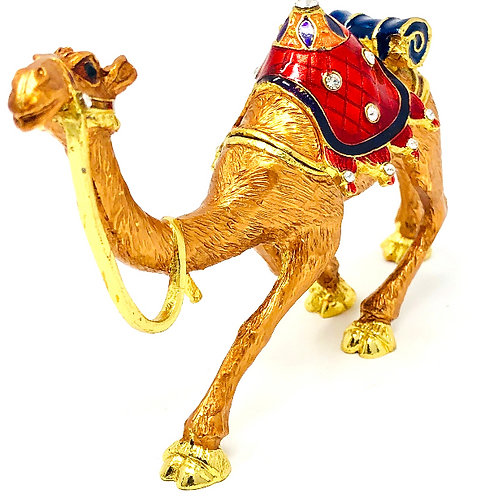 BRASS WEDDING CAMEL