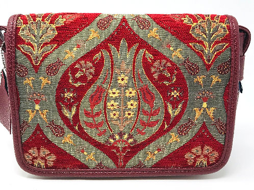 TURKISH TULIP DESIGN SHOULDER BAG