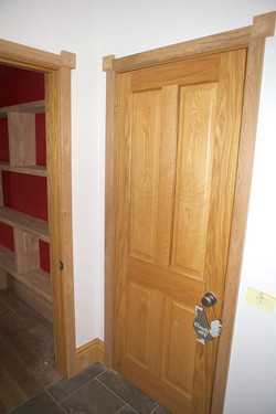 oak door frames and skirting
