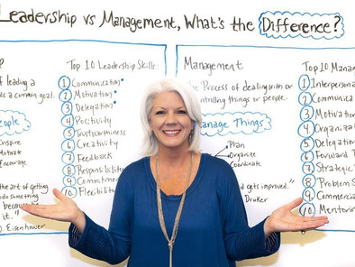 Leadership vs. Management, What's the Difference?