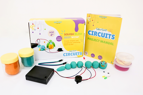 Squishy Circuits Kit - Party Pack x5