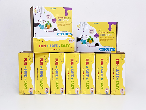 Squishy Circuits Kit - Educator Pack x10