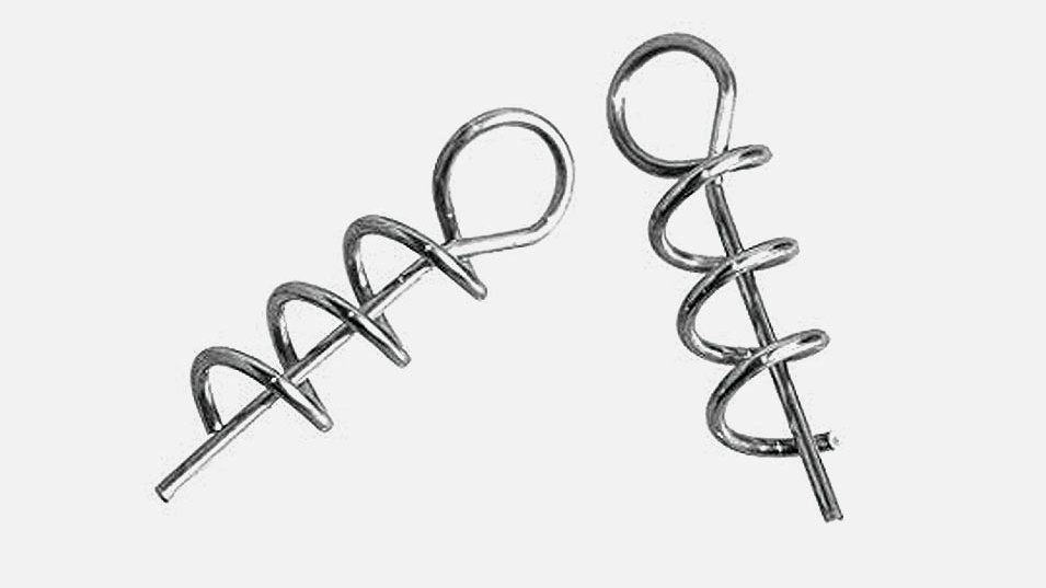 Spinlock hooks spare screws