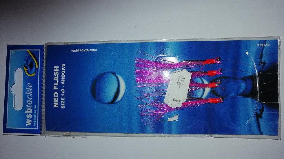 WSB - Neo Flash, 4 hooks Size 1/0