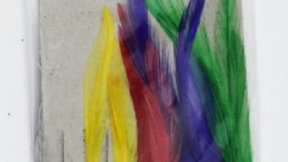 Mackeral feathers coloured with tinsel - 4 hooks size 2/0 - Max Performance