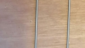 Baiting needle with brass ferrile 25cm or 30cm  - Ac rigs