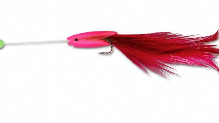 Mini Hokkai Pink - 3 hook size 8 - Tronixpro