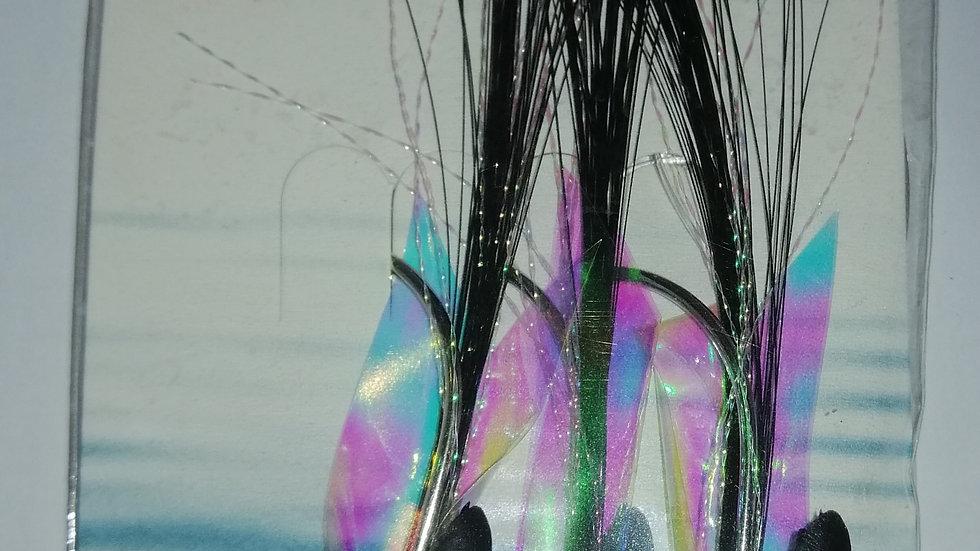 Fladen - Max Cod Rig - Black, 3 Hook Size 6/0
