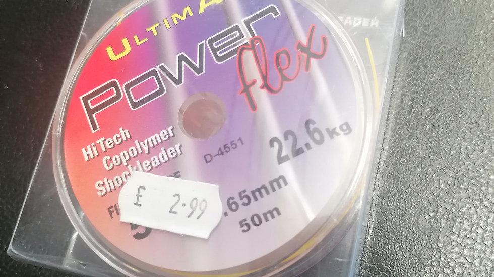 Powerflex hi tech copolymer shockleader 50m - Ultima