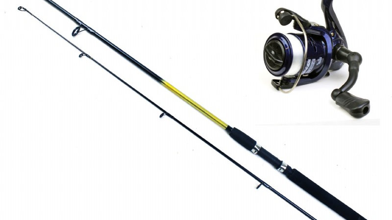 Sportstar - 6ft, 2pc Spinning Rod & RT reel combo