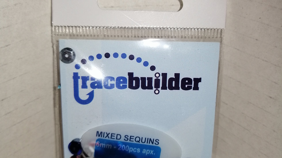 6mm mixed sequins - tracebuilder