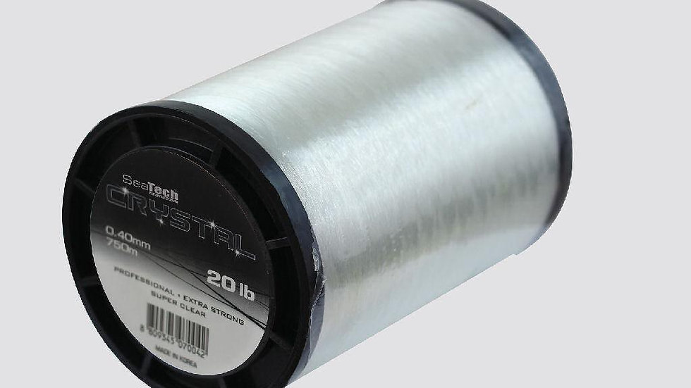 Crystal Reel fillers - 1 kilo spools - SeaTech