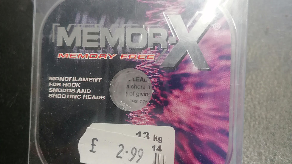 Memory X memory free line 50m - ultima