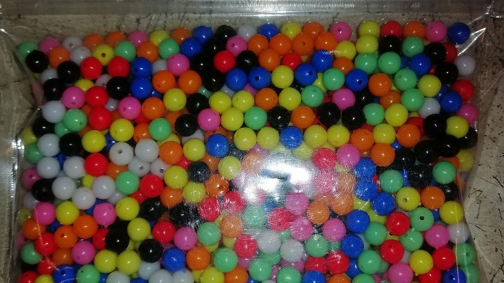 6mm beads bulk - (x1000 approx)