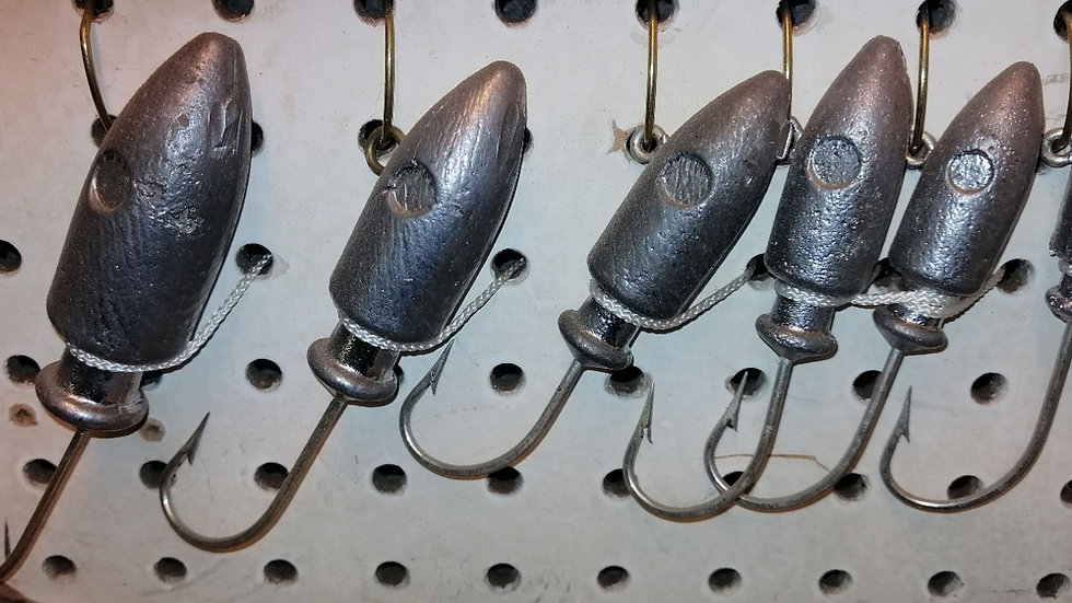 Spire Point Jig Heads (3oz to 12oz)