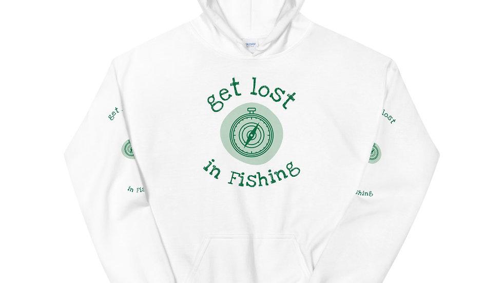 Get Lost In Fishing - Unisex Hoodie