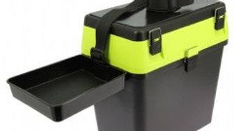 Compact Seat and Tackle Box YELLOW-BLACK