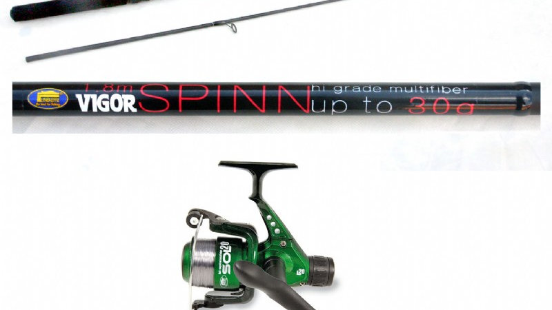 Lineaeffe 7ft/2.1m Vigor Spin Rod & Sol Reel Spin Combo