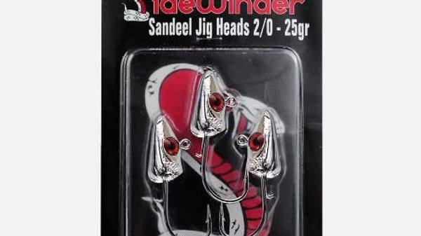 Sandeels Jig Heads Bloodeye - Sidewinder