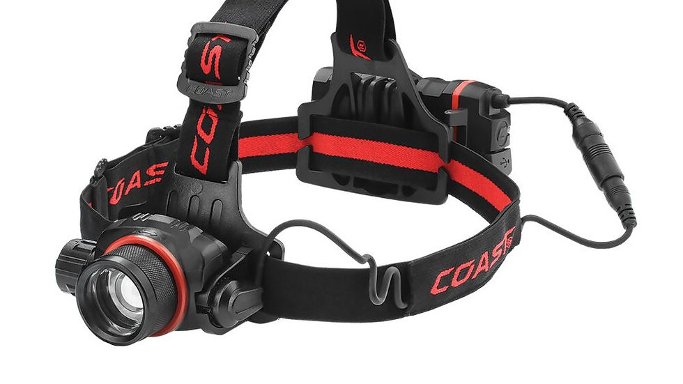 HL8R Rechargeable Headtorch  - Coast