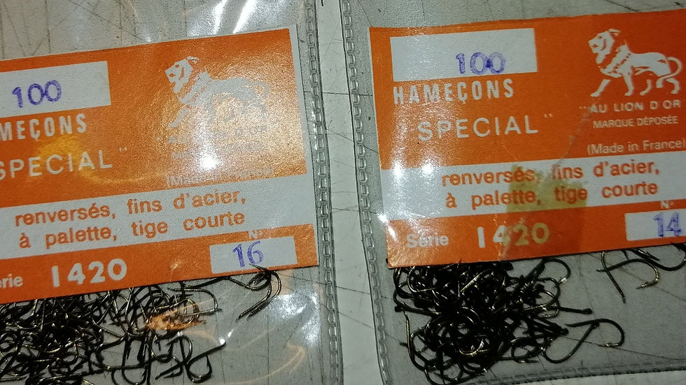 Hamecons 1420 (various sizes and qty)