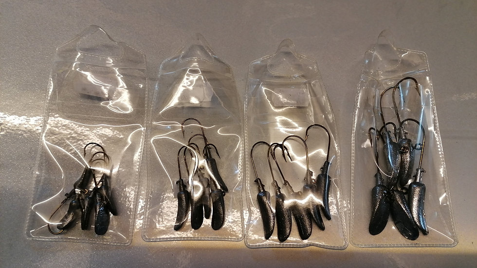 Grave Digger Jig Heads (x5 per pack)