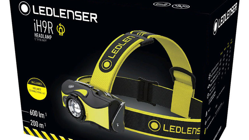 Ledlenser iH9R Rechargeable Head Torch 600lm