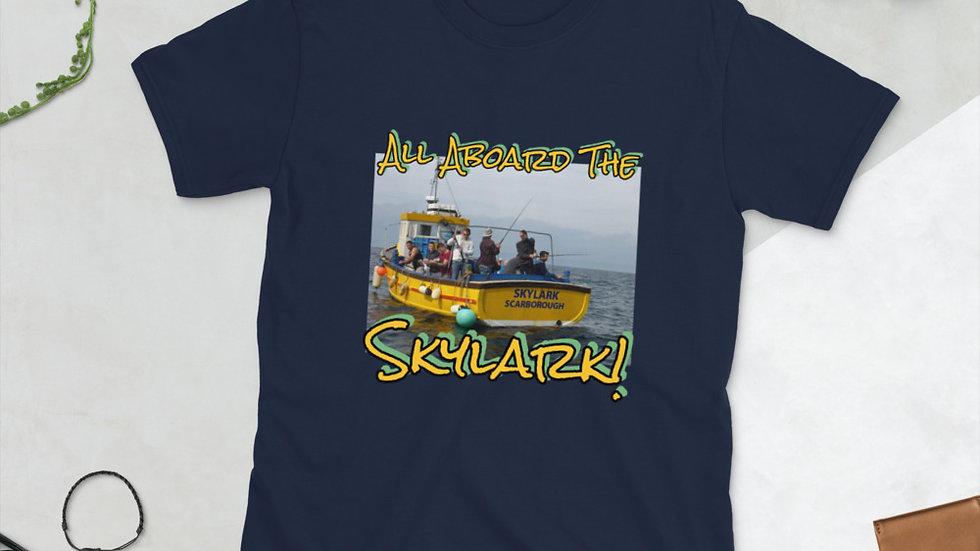 All Aboard  The Skylark - Short-Sleeve Unisex T-Shirt