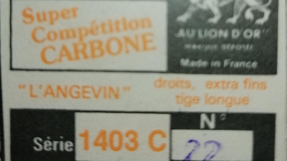 hamecons 1403 C Super Competition Carbon (various sizes and qty)