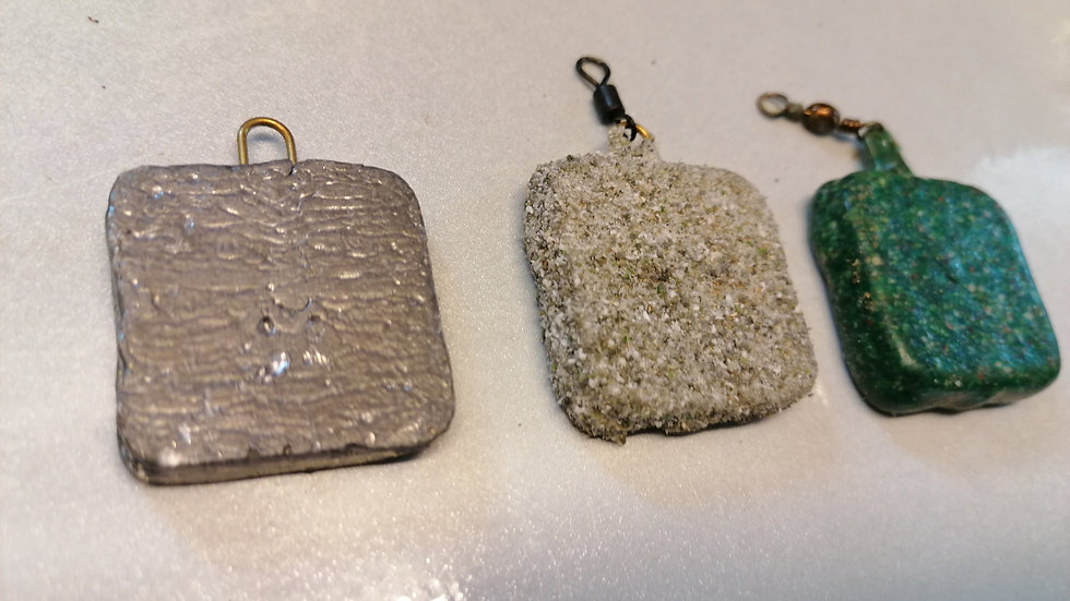 Layflat square (bagging lead) 2.5oz