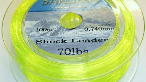Sakuma Shock leader - various sizes and colours