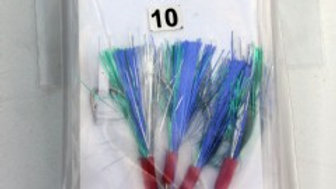 Multi Flash Mackerel Trace bulk x10 pack