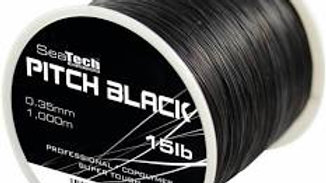 Pitch black 1/4lb spool - SeaTech