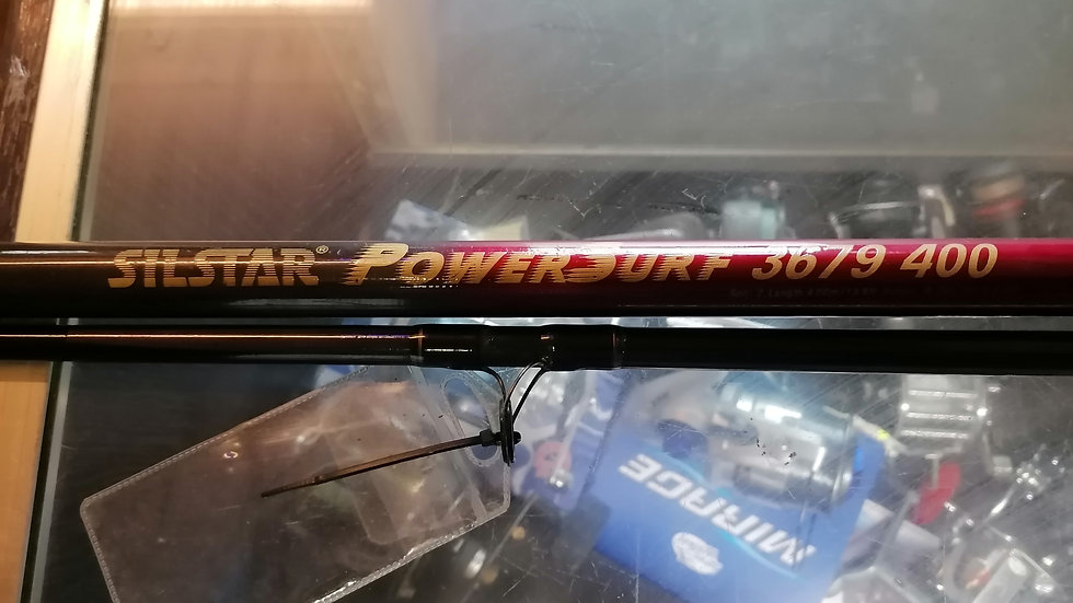 Silstar powersurf 3679 400 13ft.6 4 to 8oz - used