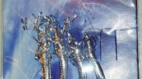 Tinsel mackerel rigs - size 1/0, 4 hooks