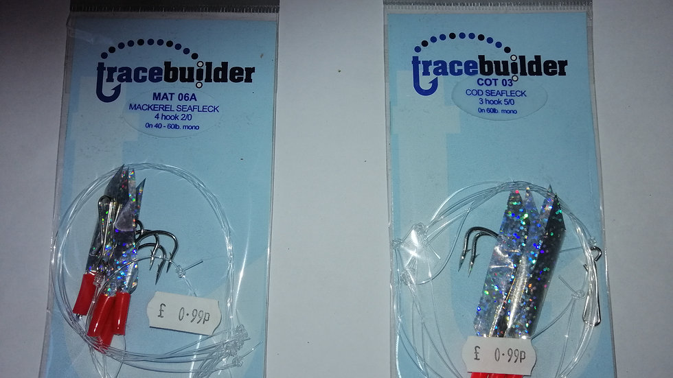 Trace Builder - Daylights - 4 hook (different sizes)