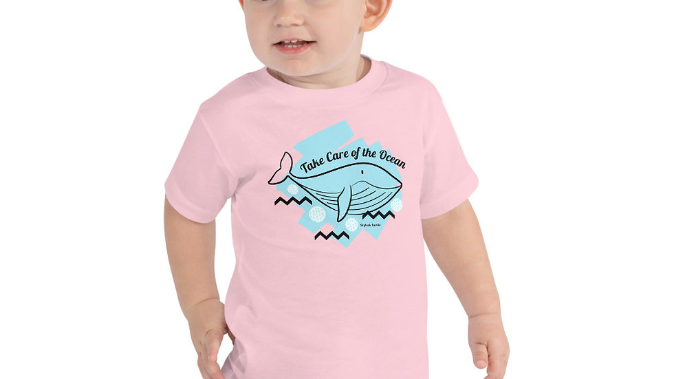 Tacke Care Of The Ocean - Toddler Short Sleeve Tee