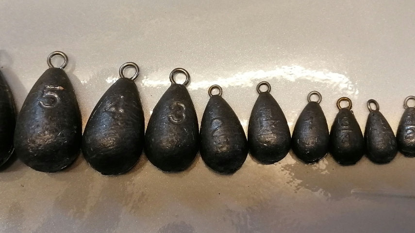 Pear Drop / Tear Drop Leads (Various Sizes)